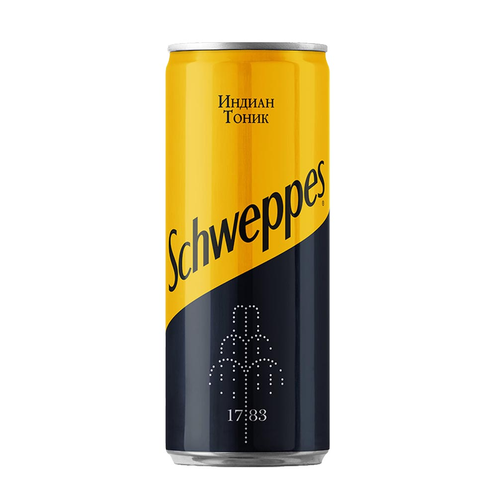 Schweppes Indian Tonic 0,33 л